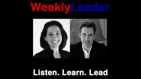 Listen, Learn, & Lead on our WeeklyLeader podcast