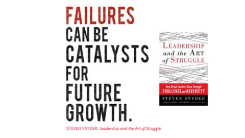 Finding Strength in Struggle: Leadership and the Art of Struggle